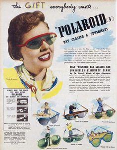 Polaroid sunglasses ad