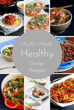 Healthy dinner recipes ten minute healthy dinner recipes healthy dinner r. Healthy Foods To Eat, Healthy Dinner Recipes, Healthy Snacks, Healthy Eating, Healthy Dinners, Meal Recipes, Enchiladas, Ciabatta, Easy Dinner Recipes