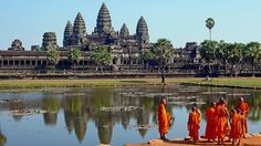 Angkor Wat, Cambodia | 26 Real Places That Look Like They've Been Taken Out Of Fairy Tales