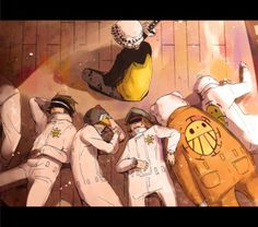 Trafalgar Law - (I have a soft spot for this guy)