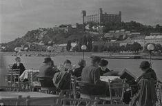 Pohľad z petržalskej strany niekedy v roku 1940 Bratislava, Dolores Park, History, Travel, Times, Historia, Viajes, Destinations, Traveling