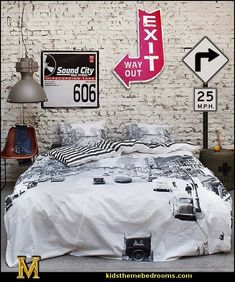 The Streets by Essenza-urban theme bedrooms-maries manor theme bedrooms