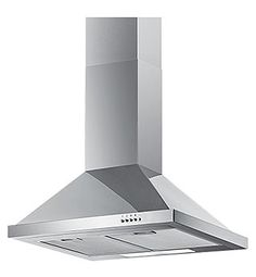 This brand new chimney style cooker hood is finished in stainless steel and comes with 5 years parts, 2 years labour warranty. Features A rated energy efficiency and manual controls. Kitchen Extractor, Cooker Hood Extractor, Extractor Fans, Chimney Cooker Hoods, Retail Websites, Steel House, Kitchenware, Stainless Steel, Control Panel
