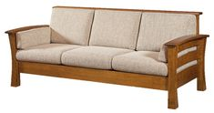 The Portmagee Real Wood Sofa was put together using mortise and tenon joinery ensuring you get a durable product that will last for generations. Amish Furniture, Sofa Furniture, Rustic Furniture, Furniture Makeover, Garden Furniture, Furniture Ideas, Furniture Cleaning, Distressed Furniture, White Furniture
