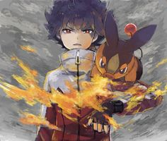 Pokémon Trainer Hugh- Pokemon black and white, I play pokemon white 2 mostly