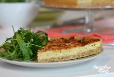 quiche ok 2 Greens Recipe, Banana Bread, Nom Nom, French Toast, Sandwiches, Recipies, Cheesecake, Gluten, Healthy Recipes
