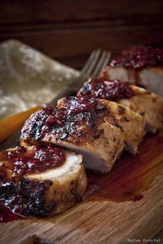 Lomo de cerdo navideño, con mermelada y receta.