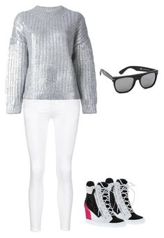 """Untitled #953"" by abbey-ceee ❤ liked on Polyvore featuring rag & bone/JEAN, DKNY, Giuseppe Zanotti, RetroSuperFuture, women's clothing, women, female, woman, misses and juniors"