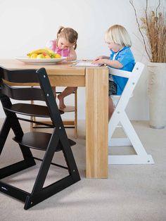 Mocka Soho Wooden High Chair - white