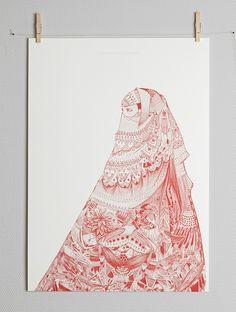 Image of AL NIQAB AL HAMRA BY EMILIE IMÁN