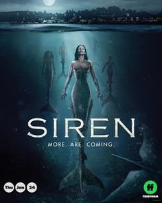 Trailer, promos, clip, featurette, images and poster for the second season of the fantasy series SIREN starring Alex Roe and Eline Powell. Watch Tv Shows, Tv Series To Watch, Series Movies, Movies And Tv Shows, Hd Movies Online, New Movies, Movies To Watch, Good Movies, Imdb Movies