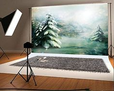 Photography Christmas Backdrops Painting Pine Snow Fantasy for Children Photo Studio Natural Scenery Background Flash Photography, Background For Photography, Underwater Photography, Photography Backdrops, Nature Photography, Product Photography, Digital Photography, Video Backdrops, Photo Backdrops