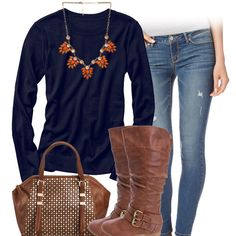 24da1469d82 Take jeans and tshirt casual and make it Chicago Bears cute with a team  tee