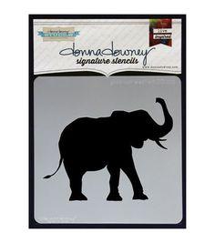 Donna Downey Signature Good Luck Elephant Stencils