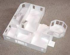 Styrofoam house model