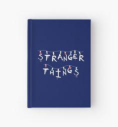 """Stranger Things"". You recognize this from Will's Mother's Wall! For who loves Eleven (Millie Bobby Brown), Mike (Finn Wolfhard), Dustin (Gaten Matarazzo), Lucas (Caleb McLaughin), Will (Noah Schnapp), Joyce (Winona Ryder), Chief Hopper (David Harbour). #strangerthings, #netflix #strangerthingsfan #nerd #geek #friendsdontlie #eleven #mike #dustin #lucas #chiefhopper #hawkins #upsidedown #dungeonsanddragons #notebook #journal #stationery #school #student Stranger Things Lights, Xmas Lights, Winona Ryder, Nerd Geek, Bobby Brown, Dungeons And Dragons, Netflix, Geek Stuff, Stationery"