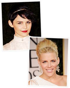 A skinny headband makes a sophisticated statement. Take a tip from #GinniferGoodwin and #BusyPhillips and opt for one in neutral tones and be sure that it fits snugly. http://www.instyle.com/instyle/package/general/photos/0,,20574105_20576460_21130261,00.html