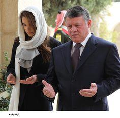 King Abdullah II & Queen Rania