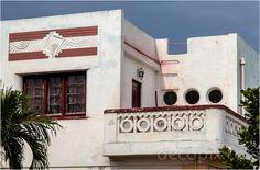 Art Deco House with Sunrises and Portholes - Havana, Cuba