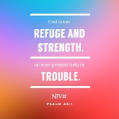 NIV Verse of the Day: Psalm 46:1