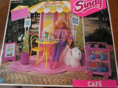 Vintage Pedigree Sindy 1992 HASBRO Sealed UNUSED BOXED COMPLETE CAFE UNUSED XMAS | eBay