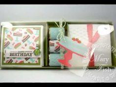 Stampin Up Sweet Shop Gift Box Video