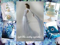 Light blu inspiration wedding...by MARINA MANSANTA
