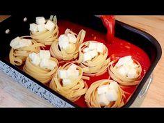Μην βράζετε τα ζυμαρικά αλλά μαγειρεύετε με αυτόν τον τρόπο # 302 - YouTube Pate Spaghetti, Pasta Recipes, Cooking Recipes, Pasta Bake, Pasta Dishes, Italian Recipes, Food Videos, Great Recipes, Brunch