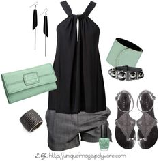 Love this outfit! summer night out!
