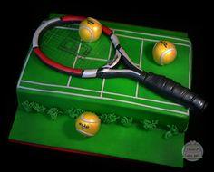 Tennis Cupcakes, Tennis Cake, Tennis Party, 49ers Cake, Rodjendanske Torte, Buttercream Fondant, Sport Cakes, Baking Items, Communion Cakes