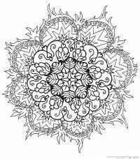 Mandala Coloring Pages 29
