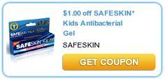$1.00 off SAFESKIN* Kids Antibacterial Gel