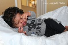Reborn re-baby doll Erin. Reborn Babies Black, African American Reborn Babies, Reborn Baby Boy Dolls, Newborn Baby Dolls, Baby Girl Dolls, American Girl, Baby Dolls For Sale, Life Like Baby Dolls, Life Like Babies
