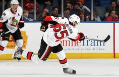 Should Ottawa Senator Erik Karlsson win the Norris Trophy as the NHL's top defenceman? Speak your mind with other die-hard NHL fans! Ice Hockey Teams, Hockey Players, Canadian Tire Centre, Nhl Jerseys, San Jose Sharks, National Hockey League, Home And Away, Ottawa