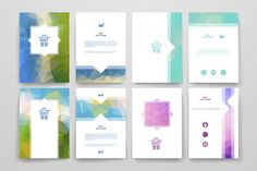 Diet brochures by Palau on Creative Market