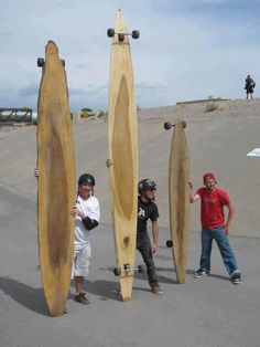 Long wood!! Which spot would you ride these babies? #Longboard