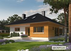 #Dom Liv 3 to propozycja domu z poddaszem do adaptacji.
