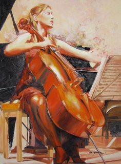 painting cellos - Google zoeken