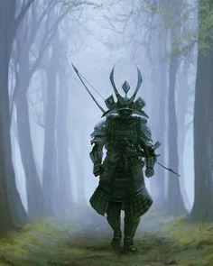 #samurai #japan #art