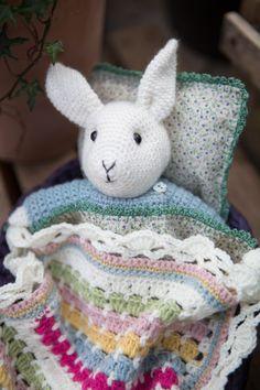 Bonnie Bunny set - for Inside Crochet mag by Emma Varnam