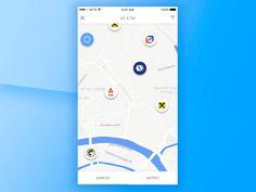 Mdm Facelift Maps Animation by ALEX BENDER   #Design Popular #Dribbble #shots