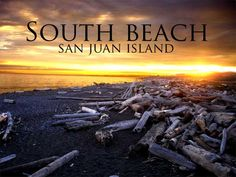 San Juan Island's South Beach (2010 Visitor info for San Juan Island, Orcas Island, and Lopez Island.)