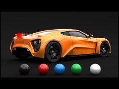 Tutoriel Blender: Cycles configuration d'un Shader car paint - YouTube