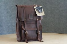 Miles and Louie Anderson Backpack by MilesandLouie on Etsy, $185.00
