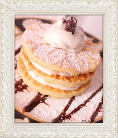 """Meatless Monday """"Sweetness"""" Pizzelles and fun ways to serve them - The Cottage Market"""