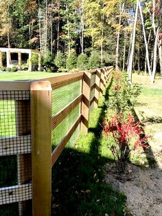 3- Rail Horse Fencing Horse Fencing, Home Estimate, Outdoor Stuff, Acre, Equestrian, Fence, Outdoor Structures, Horses, Awesome