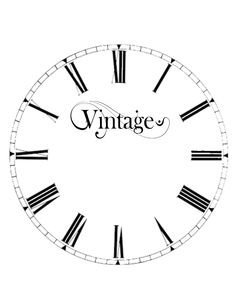 DIY. YOUR VERY OWN VINTAGE CLOCK FACE. AND FOR EXTRA INSPIRATION YOU COULD ADD FLOWERS, BIRDS, DRAGON FLYS OF YOUR CHOICE FOR SOME EXTRA POP TO YOUR NEW ACCESSORIE FOR YOUR BEAUTIFUL HOME. ENJOY IT.