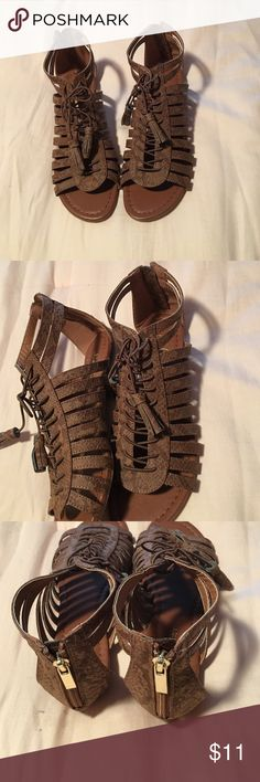 Love Culture Sandal Super cute! Worn once in excellent condition. Love culture sandals. Size 7.5 Love Culture Shoes Sandals