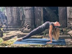 (9) Gentle Yoga Workout ♥ Strong & Calm | Siem Reap - YouTube