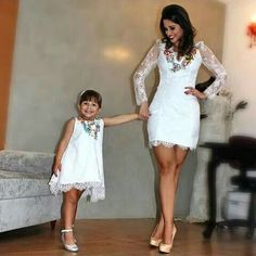 One day a boy will have fun in a pretty dress just like his Mother!